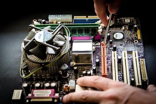 Usługi serwisowania komputerów