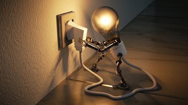 Sklep z mnóstwem lamp