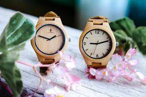 Zegarek wykonany z drewna