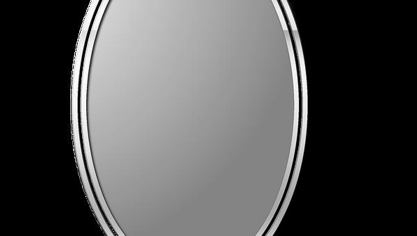 Zawieszenie lustra z podświetleniem w przedpokoju